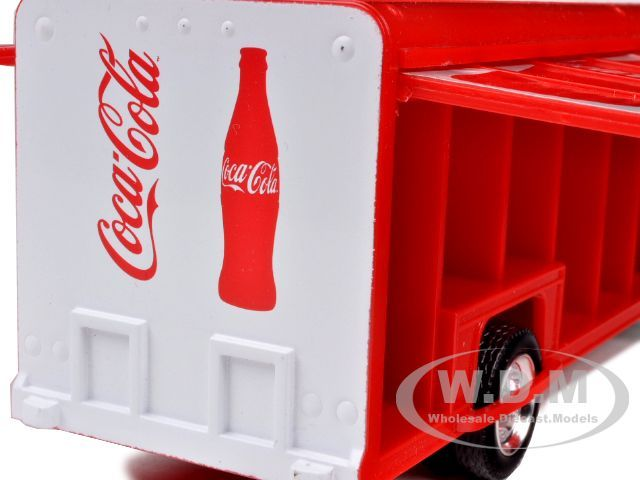 diecast model car of kenworth t300 coca cola delivery truck 125th